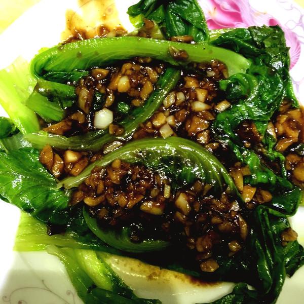 蚝油生菜  的做法