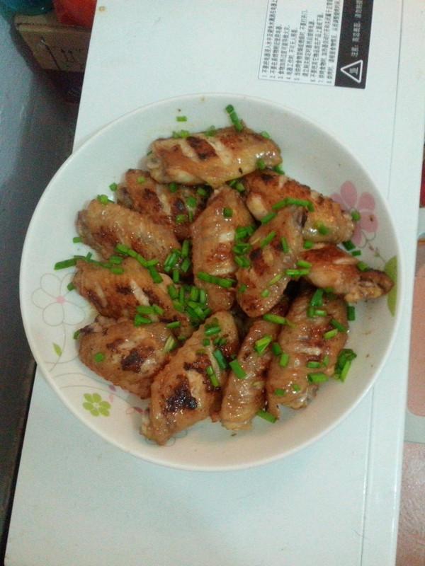 无油健康---干煎鸡翅中的做法