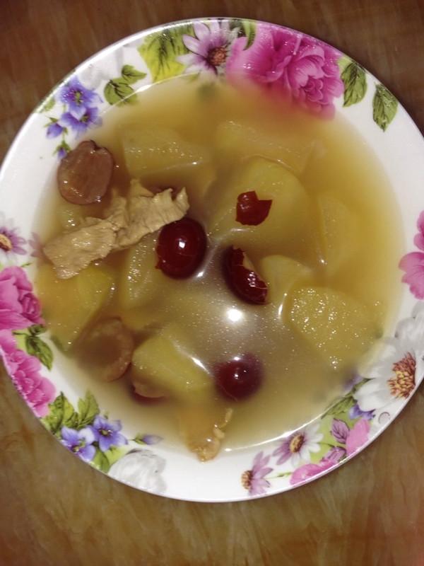 红枣苹果煲瘦肉的做法