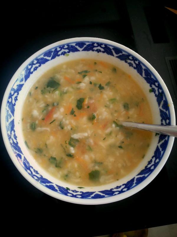 【适合秋冬季节的暖胃餐】洞房花烛夜山西人必喝的和气拌汤——西红柿鸡蛋拌汤的做法