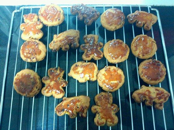 蔓越梅蛋黄饼的做法