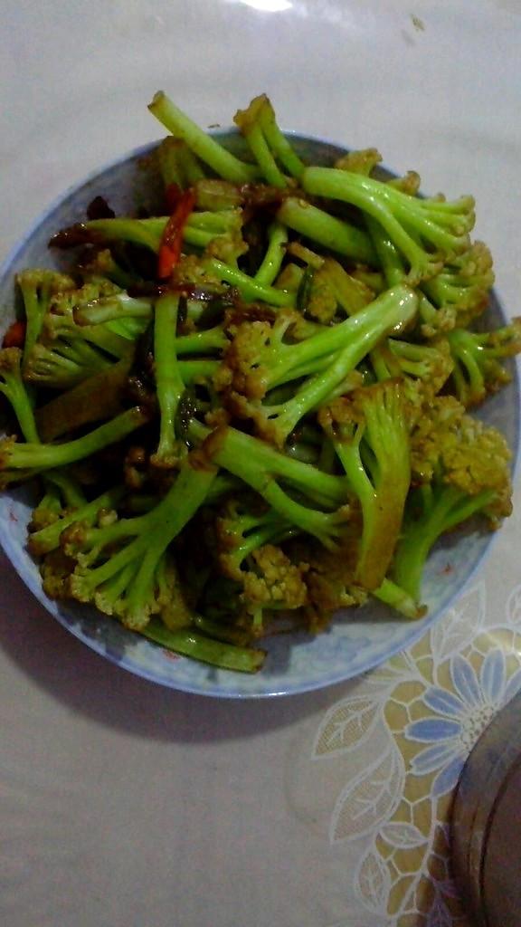大碗花菜的做法