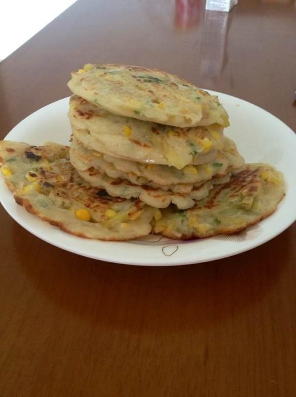 营养早餐【奶香蔬菜饼】的做法