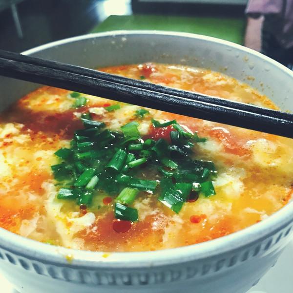 西红柿鸡蛋汤 的做法