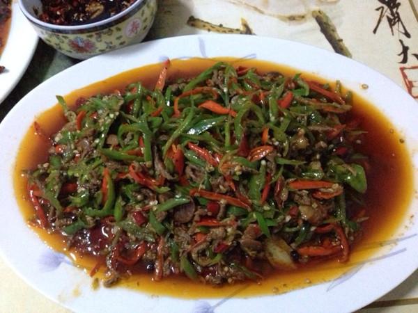 双椒牛肉小炒的做法