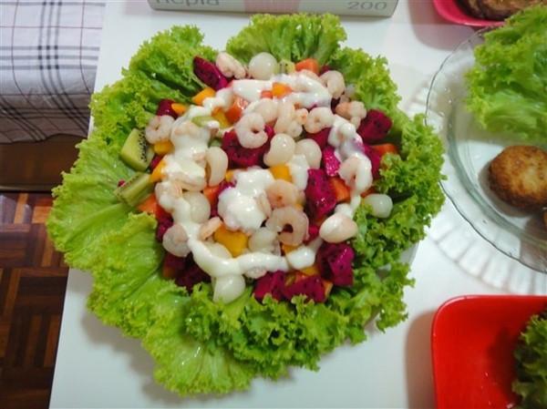 减肥果蔬沙拉的做法