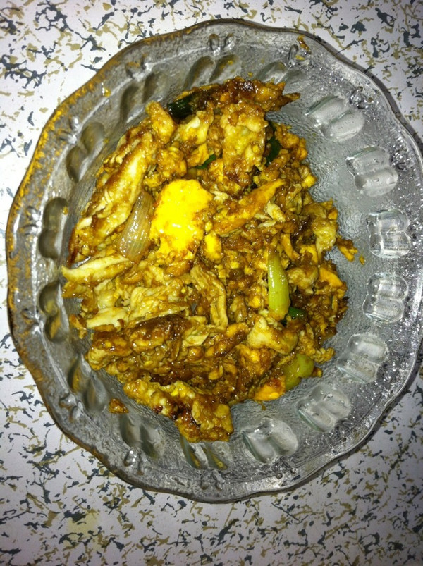 葱花炒鸡蛋的做法