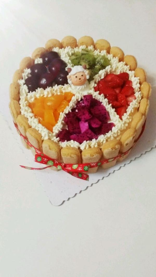 羊年哒一个蛋糕,萌萌哒!