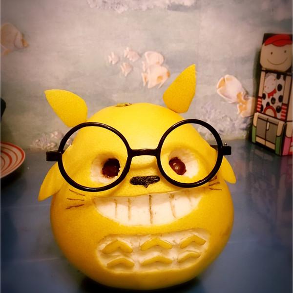 可爱版 龙猫柚子