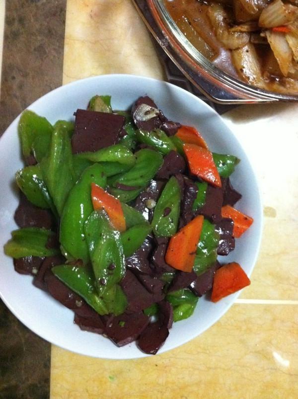 家常炒血豆腐的做法