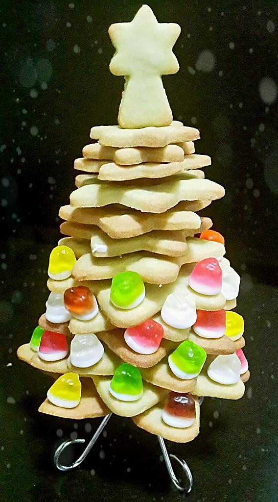 饼干圣诞树的做法