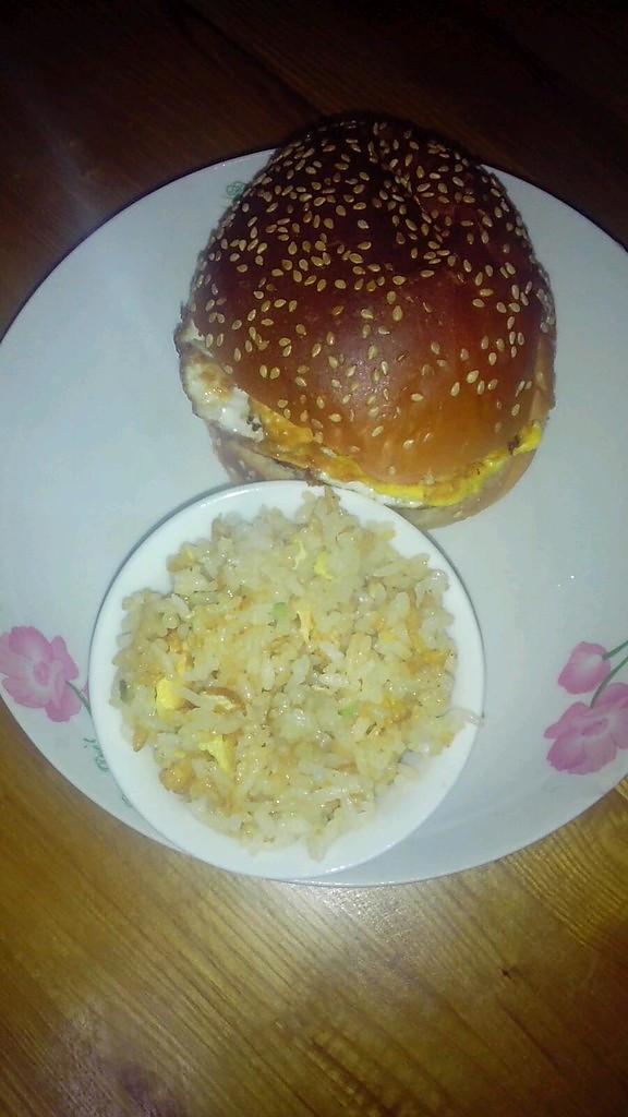 中式汉堡的做法