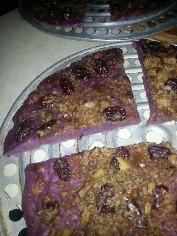 紫薯发糕 的做法