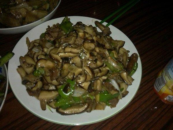 香菇肉片的做法