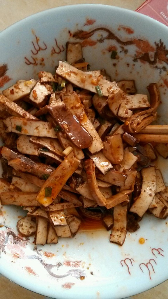 懒人必备----川味麻辣凉拌豆腐干的做法