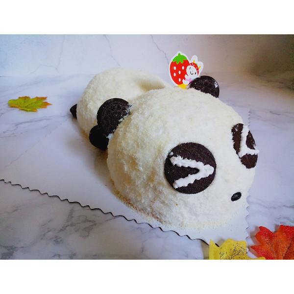 熊猫立体蛋糕