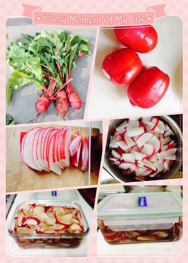 开胃腌萝卜的做法