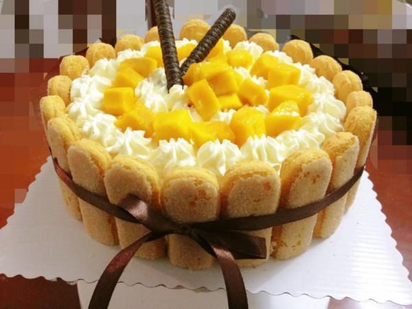 8寸戚风奶油蛋糕的做法