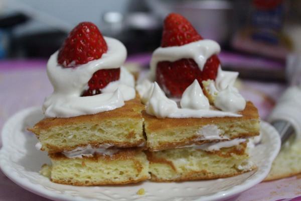 小嶋海绵蛋糕的做法