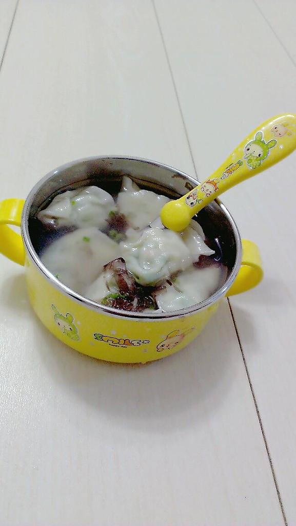 虾仁韭黄馄饨的做法