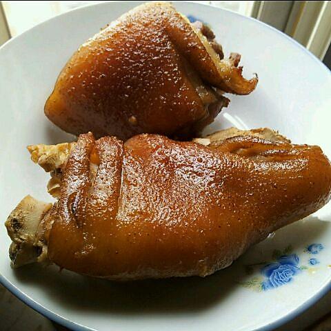应子45的烤猪蹄做法的学习成果照_豆果美食