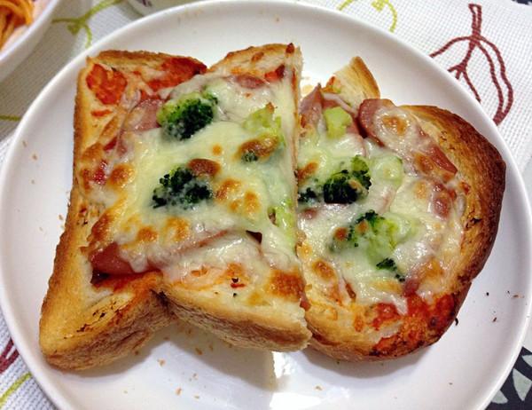 吐司Pizza的做法