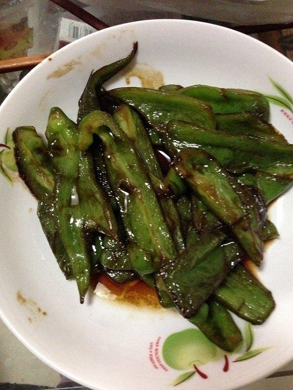 虎皮青椒的做法