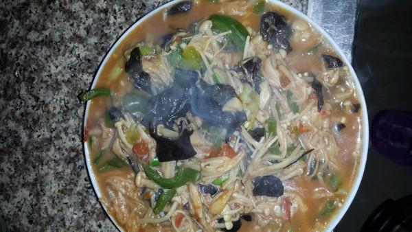 番茄炒金针菇的做法