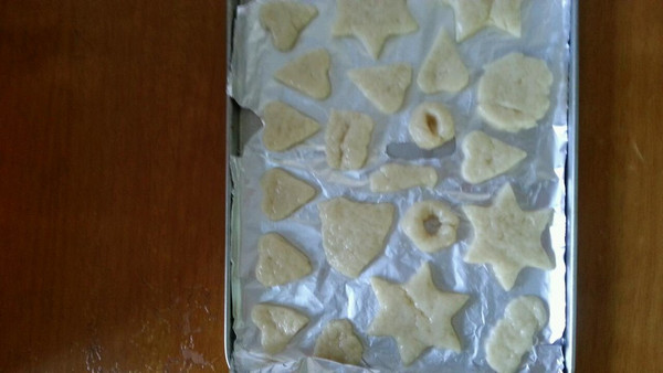 无黄油烘焙:简单快速零失败的超可爱的造型奶香苏打饼干的做法
