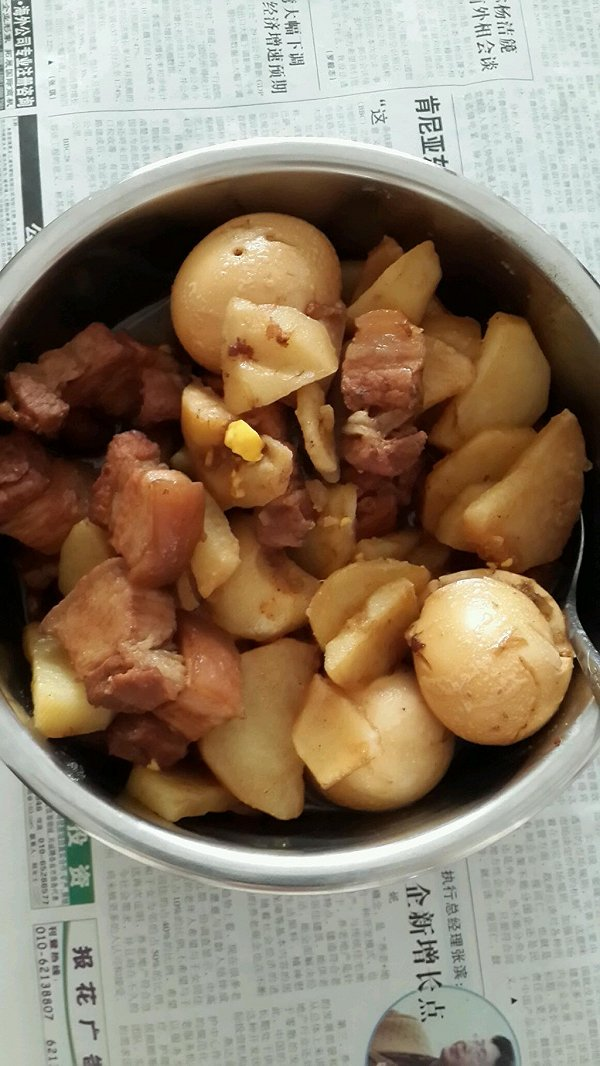 深夜食堂之土豆炖肉的做法