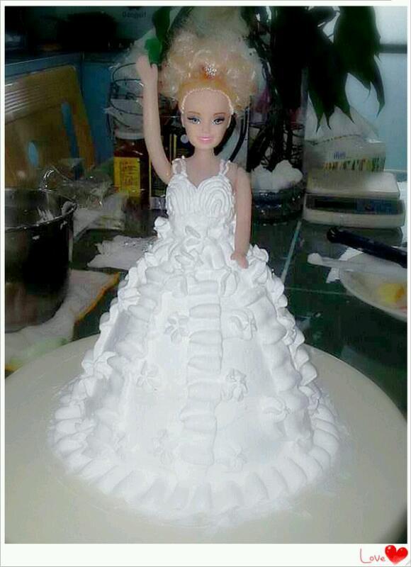 芭比蛋糕的做法