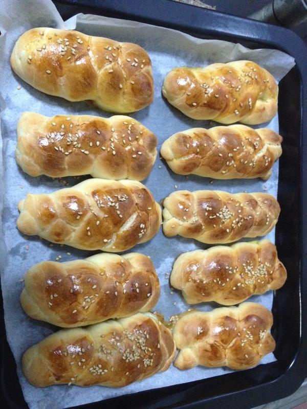香甜麻花小面包的做法