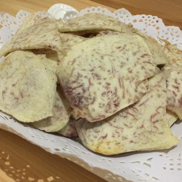 休闲零食——香烤芋片的做法