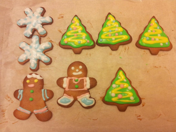 圣诞涂鸦姜饼的做法