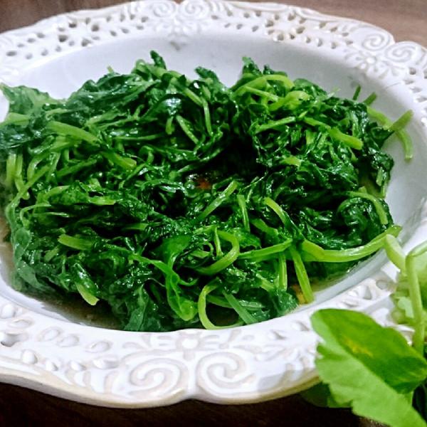 蔬菜爱烘焙的清炒泥鳅苗【蜜桃】素食素菜菜谱食谱做法家常菜的做法豌豆图片