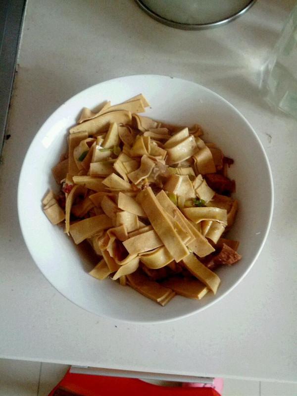 老汤干豆腐的做法