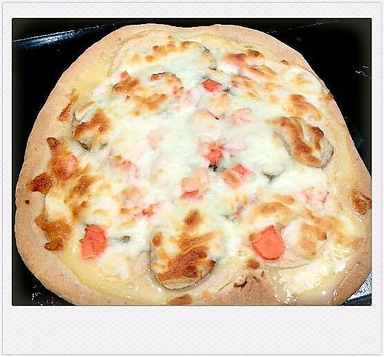 香甜水果披萨的做法
