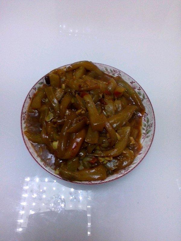 少油的鱼香茄子的做法