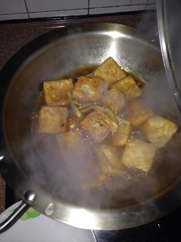 油煎豆腐的做法