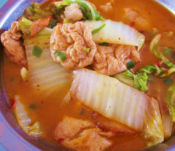 【韩国美食】—辣味嫩豆腐汤的做法