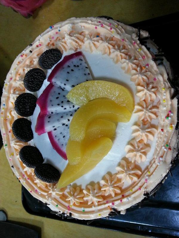 8寸 生日蛋糕 奶油蛋糕的做法