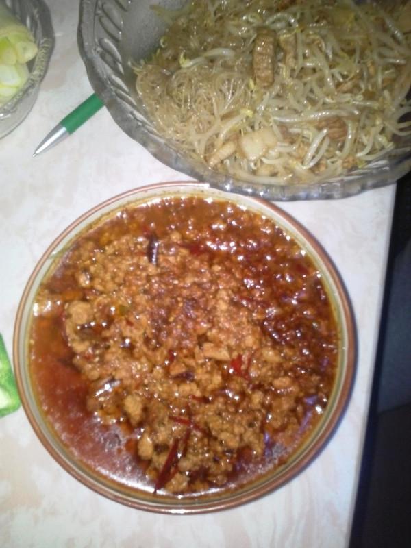 肉酱烧茄子的做法