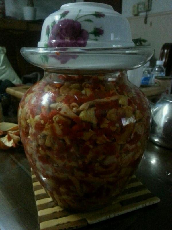 剁椒萝卜的做法