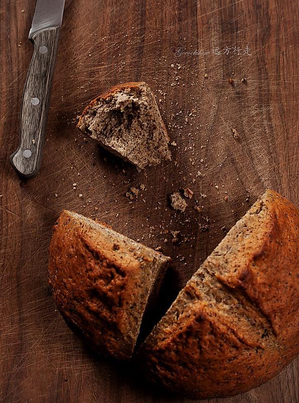 绝对快手营养面包【爱尔兰苏打全麦面包】的做法