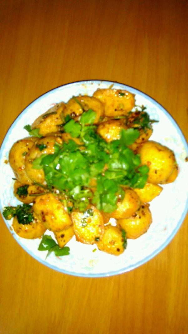 芋头冬瓜汤的油炸小土豆做法的学习成果照_豆果美食