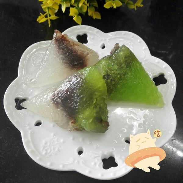 西米水晶粽子的做法