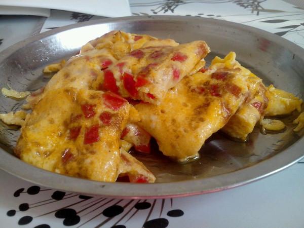 西红柿厚蛋烧的做法