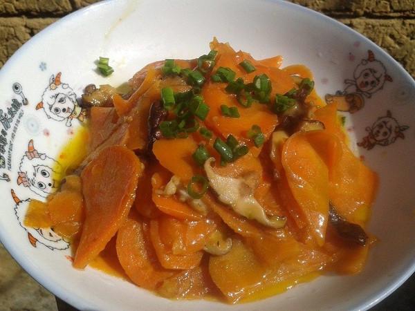 冬笋炒胡萝卜的做法