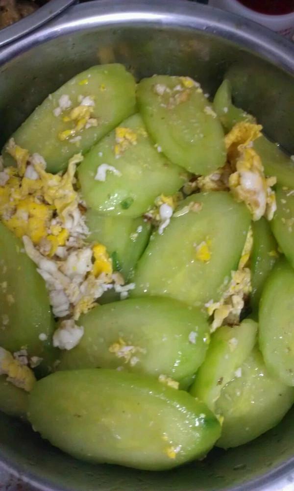 青瓜炒蛋的做法