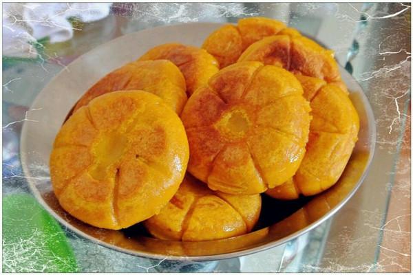 豆馅南瓜饼的做法